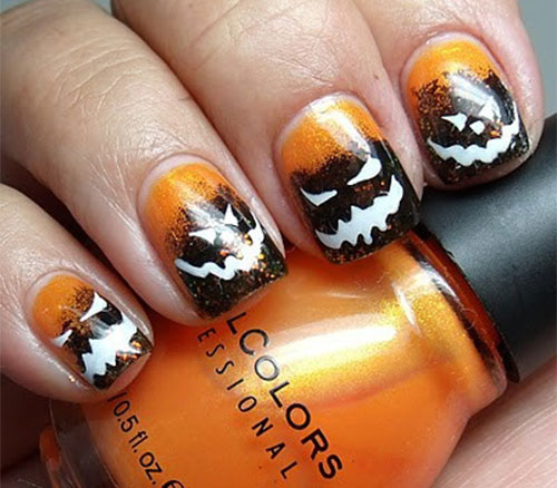 12-Halloween-Pumpkin-Nail-Art-Designs-Ideas-Trends-Stickers-2014-13