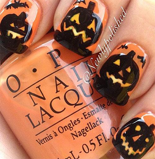 12-Halloween-Pumpkin-Nail-Art-Designs-Ideas-Trends-Stickers-2014-4
