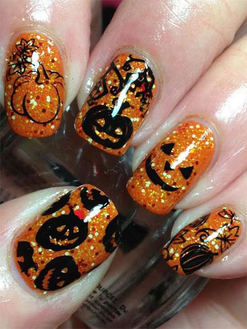 12-Halloween-Pumpkin-Nail-Art-Designs-Ideas-Trends-Stickers-2014-5