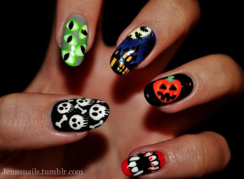 12-Halloween-Pumpkin-Nail-Art-Designs-Ideas-Trends-Stickers-2014-7