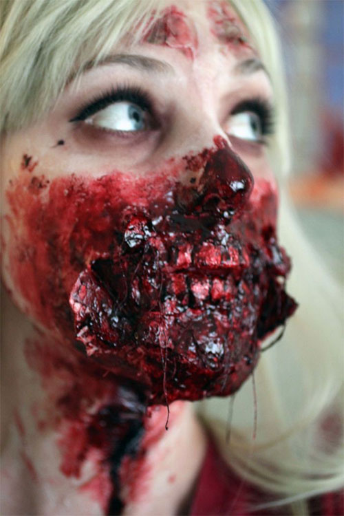 15-Best-Halloween-Zombie-Make-Up-Looks-Ideas-Trends-For-Girls-2014-14