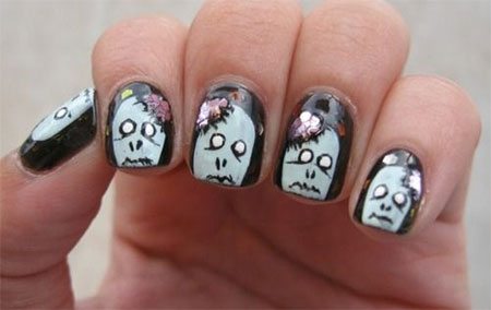 15-Best-Halloween-Zombie-Nail-Art-Designs-Ideas-Trends-Stickers-2014-9