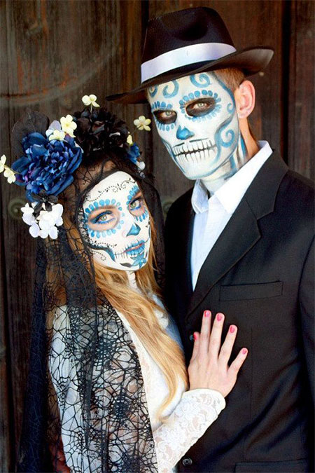 day of the dead couple - photo #7