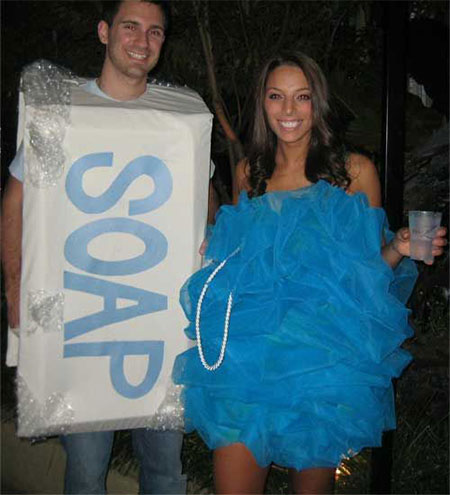 15 cute funny couples halloween costumes outfit ideas 2014 modern fashion blog. Black Bedroom Furniture Sets. Home Design Ideas