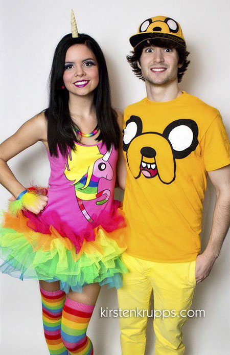 15-Cute-Funny-Couples-Halloween-Costumes-Outfit-Ideas-  sc 1 st  Modern Fashion Blog & 15 Cute u0026 Funny Couples Halloween Costumes u0026 Outfit Ideas 2014 ...