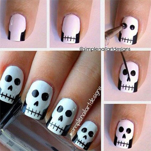 15-Scary-Halloween-Nail-Art-Tutorials-For-Beginners-Learners-2014-1
