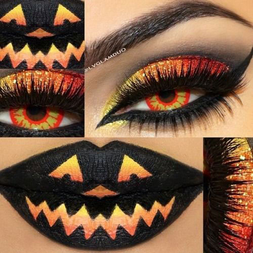 15-Scary-Halloween-Zombie-Eye-Make-Up-Looks-Ideas-For-Girls-2014-12