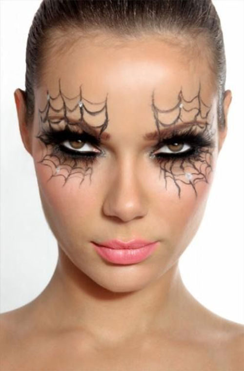15 Scary Halloween Zombie Eye Make Up Looks & Ideas For Girls 2014 ...
