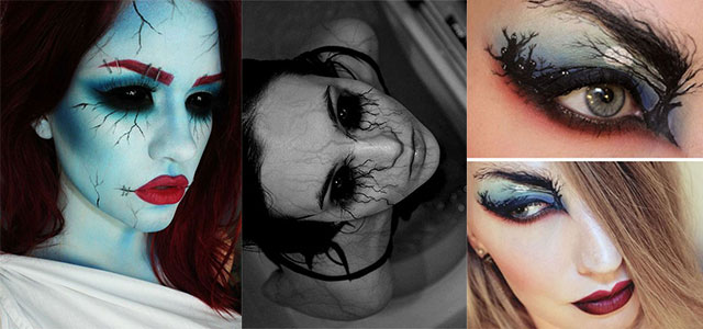 15 Scary Halloween Zombie Eye Make Up Looks U0026 Ideas For Girls 2014 | Modern Fashion Blog