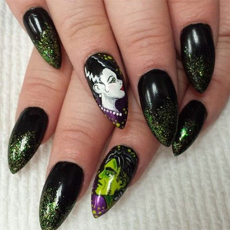 20 simple scary halloween nail art designs ideas trends 20 simple scary halloween nail art designs ideas prinsesfo Choice Image