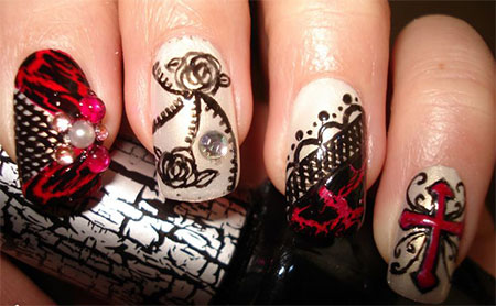 20-Simple-Scary-Halloween-Nail-Art-Designs-Ideas-Trends-Stickers-2014-6