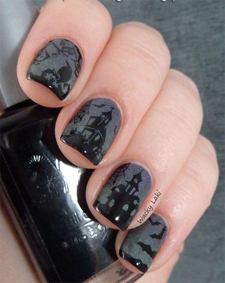20-Simple-Scary-Halloween-Nail-Art-Designs-Ideas-Trends-Stickers-2014-7