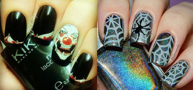 20 simple scary halloween nail art designs ideas trends 20 simple scary halloween nail art designs ideas prinsesfo Images