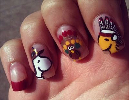 30-Thanksgiving-Nail-Art-Designs-Ideas-Trends-Stickers-2014-Thanks-Giving-Nails-16