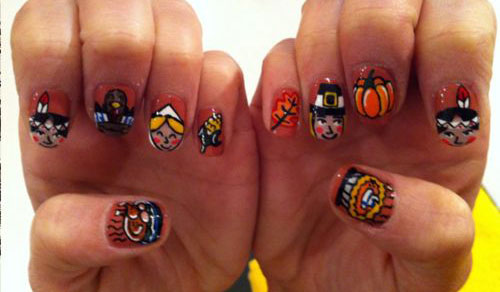 30-Thanksgiving-Nail-Art-Designs-Ideas-Trends-Stickers-2014-Thanks-Giving-Nails-28
