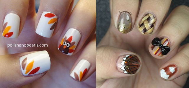 30-Thanksgiving-Nail-Art-Designs-Ideas-Trends-Stickers- - 30+ Thanksgiving Nail Art Designs, Ideas, Trends & Stickers 2014