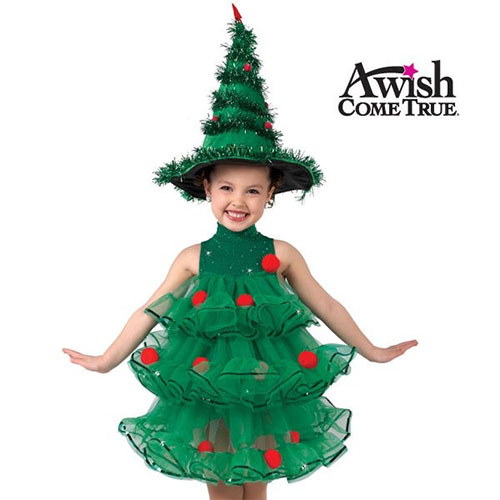 10-Home-made-Christmas-Tree-Costume-Ideas-For-Girls-Kids-2014-1