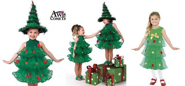 Christmas Tree Costume.10 Home Made Christmas Tree Costume Ideas For Girls Kids