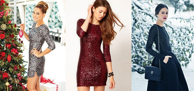 15+ Amazing Christmas Party Outfit Ideas For Girls 2014 | Xmas Dresses - 15+ Amazing Christmas Party Outfit Ideas For Girls 2014 Xmas