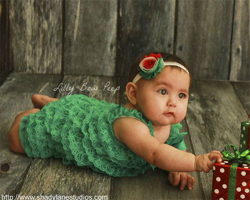 15-Cute-Christmas-Dresses -Outfits-For-Newborn-Baby-Girls-Kids-2014-15