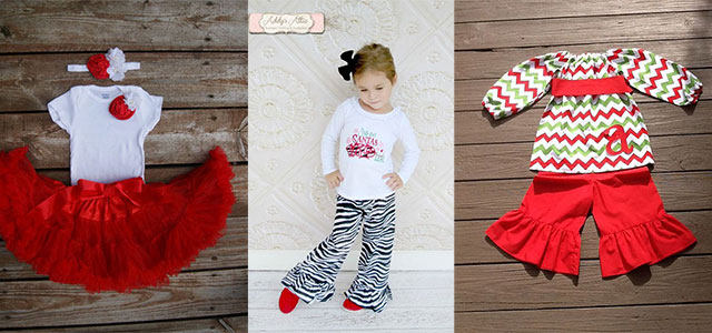 15 cute christmas dresses outfits for newborn baby
