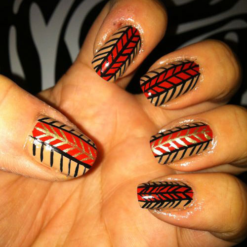 15-Easy-Thanksgiving-Nail-Art-Designs-Ideas-Trends-Stickers-2014-3