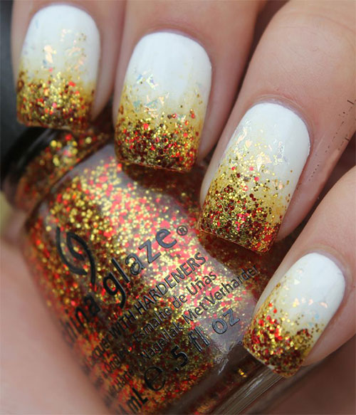 15-Easy-Thanksgiving-Nail-Art-Designs-Ideas-Trends- - 15+ Easy Thanksgiving Nail Art Designs, Ideas, Trends & Stickers