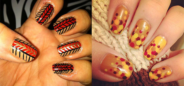 15 Easy Thanksgiving Nail Art Designs Ideas Trends Stickers