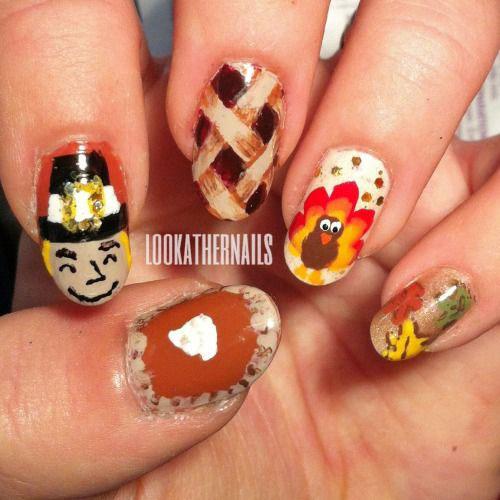 18-Turkey-Nail-Art-Designs-Ideas-Trends-Stickers-2014-4