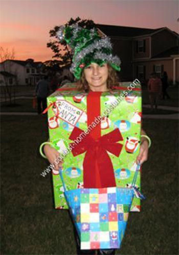 Creative home made christmas present costume ideas for