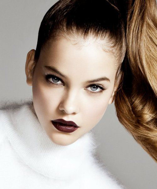 10-Winter-Make-Up-Looks-Ideen-für-Brown-Eyes-Dark-Lips-2015-3