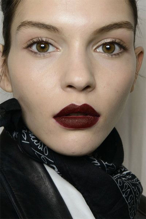 10-Winter-Make-Up-Looks-Ideen-für-Brown-Eyes-Dark-Lips-2015-4