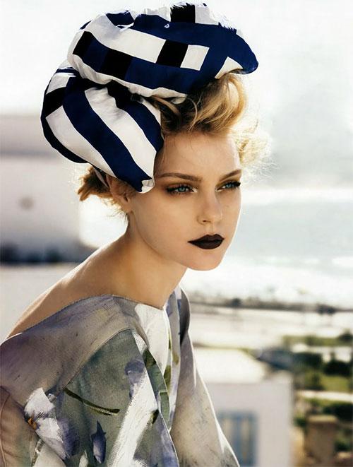 10-Winter-Make-Up-Looks-Ideas-For-Brown-Eyes-Dark-Lips-2015-7