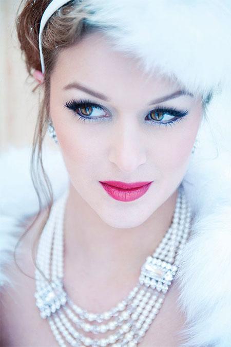 12+ Winter Wedding Make Up Ideas Looks U0026 Trends 2015 | Modern Fashion Blog
