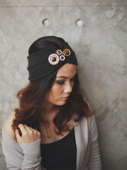 21-Cool-Winter-Knit-Pattern-Braided-Bow-Headbands-For-Women-2014-2015-4