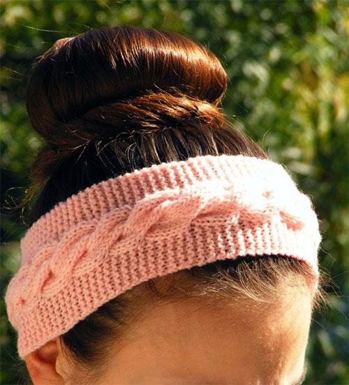 21-Cool-Winter-Knit-Pattern-Braided-Bow-Headbands-For-Women-2014-2015-9