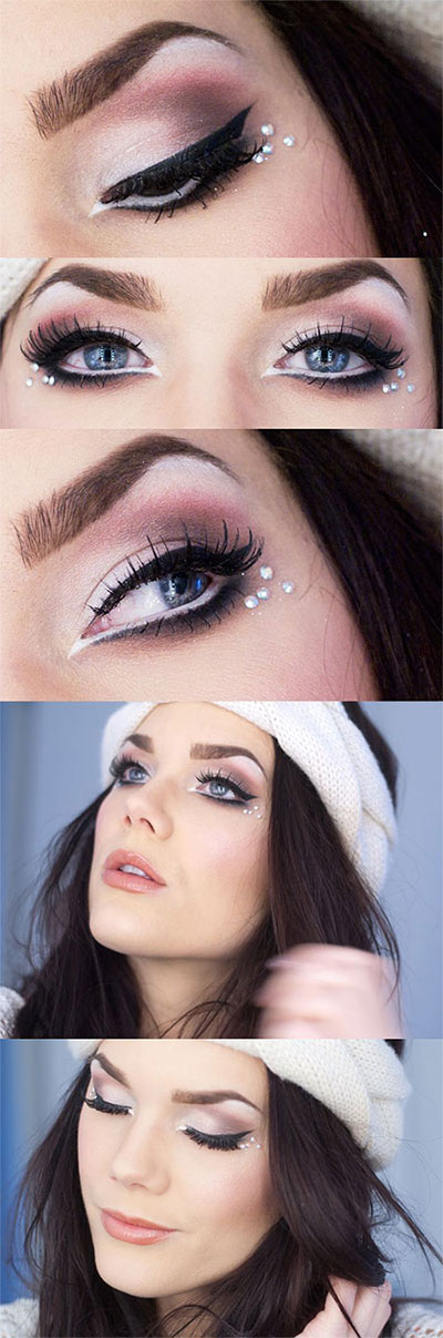 12-Best-Winter-Snow-Eye-Make-Up-Looks-Ideas-Trends-2015-4