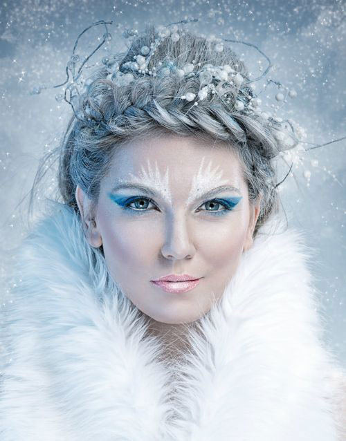 15 Winter Snow Amp Ice Queen Make Up Looks Ideas Amp Trends 2015