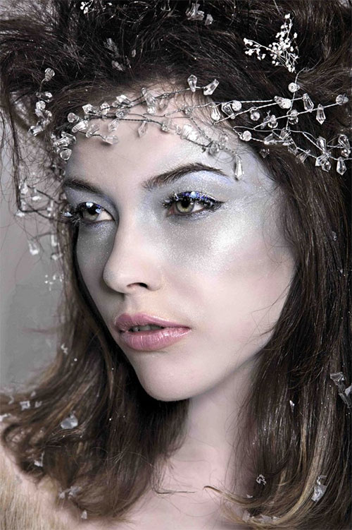15-Winter-Snow-Ice-Queen-Make-Up-Looks-Ideas-Trends-2015-14
