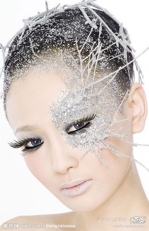 15-Winter-Snow-Ice-Queen-Make-Up-Looks-Ideas-Trends-2015-15