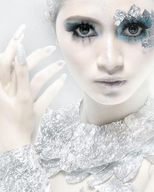 15-Winter-Snow-Ice-Queen-Make-Up-Looks-Ideas-Trends-2015-3