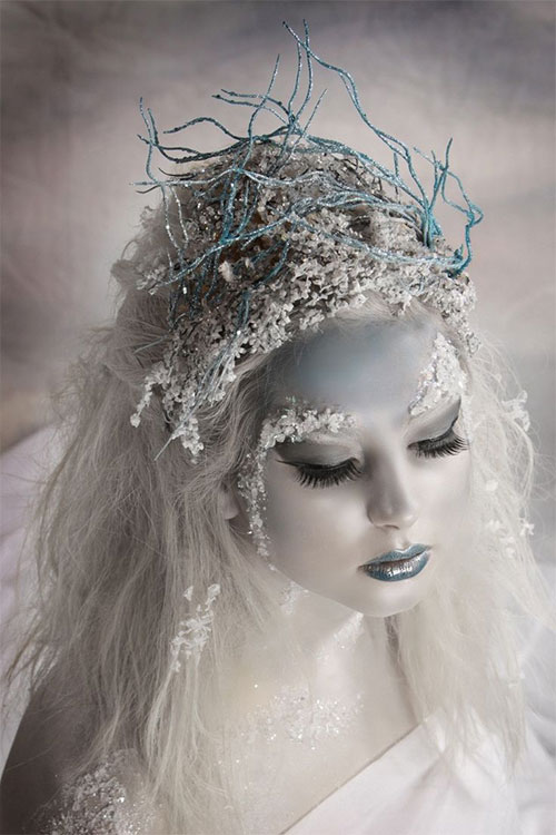 15-Winter-Snow-Ice-Queen-Make-Up-Looks-Ideas-Trends-2015-9