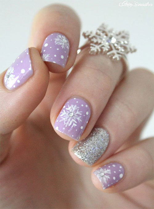 20 winter nail art designs ideas trends stickers 2015 modern fashion blog. Black Bedroom Furniture Sets. Home Design Ideas