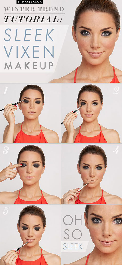 Easy-Step-By-Step-Winter-Make-Up-Tutorials-For-Beginners-Learners-2015-1