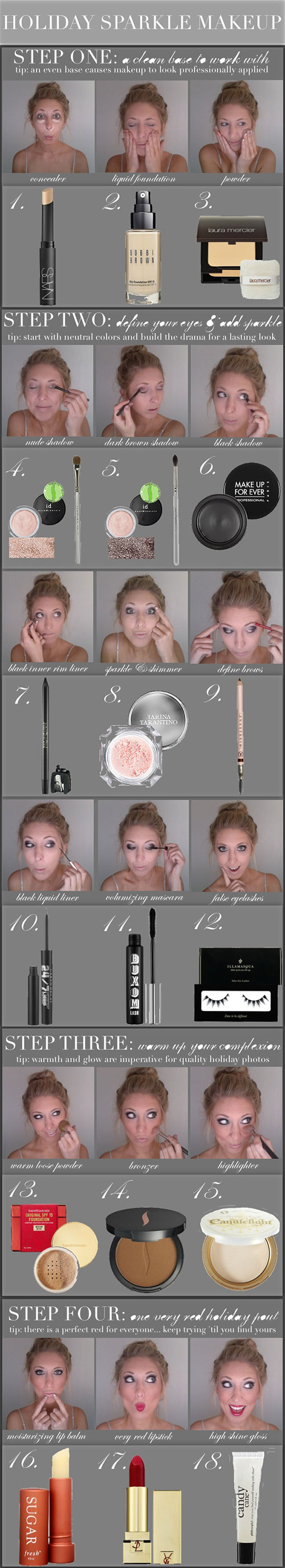 Easy-Step-By-Step-Winter-Make-Up-Tutorials-For-Beginners-Learners-2015-4