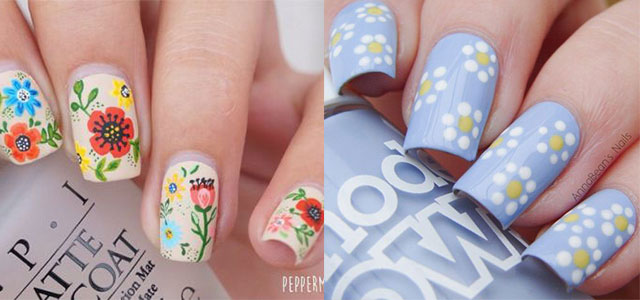 15 Best Spring Nail Art Designs, Ideas, Trends & Stickers 2015 - 15 Best Spring Nail Art Designs, Ideas, Trends & Stickers 2015