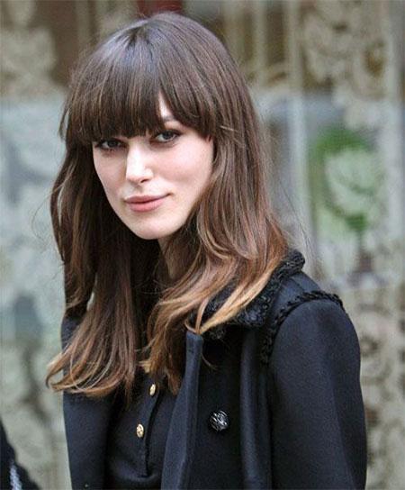 Pleasing 15 Modern Medium Length Haircuts With Bangs Layers For Thick Short Hairstyles Gunalazisus
