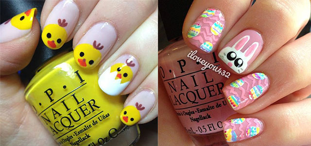 30 Best Easter Nail Art Designs Ideas Trends Stickers 2015