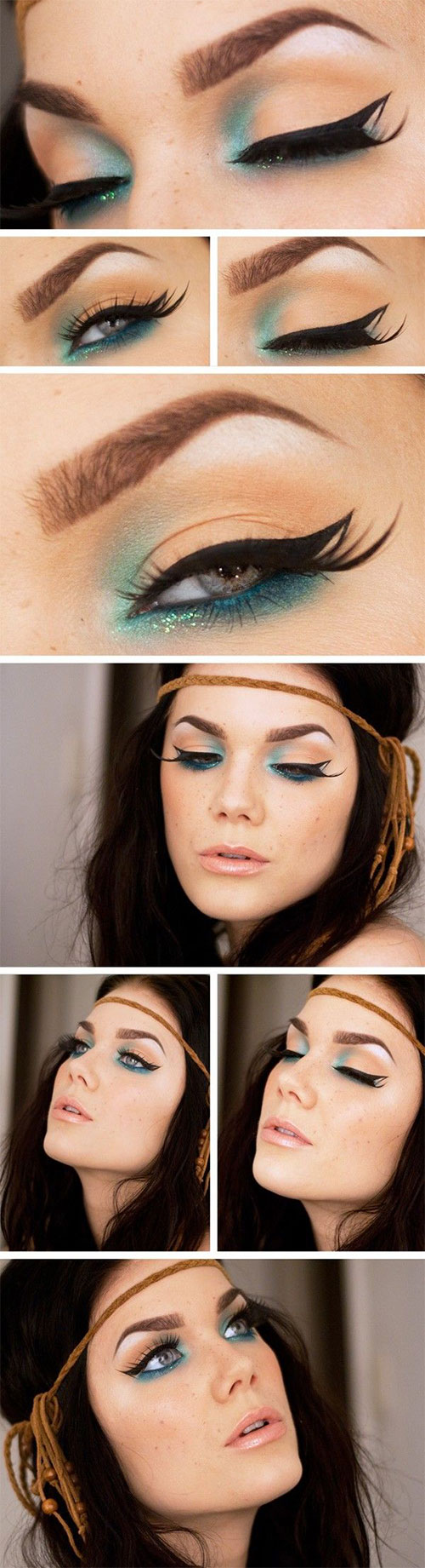 12-Easy-Summer-Eye-Make-Up-Tutorials-For-Beginners-Learners-2015-1