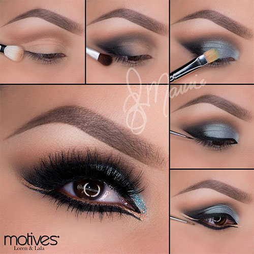 12-Easy-Summer-Eye-Make-Up-Tutorials-For-Beginners-Learners-2015-11